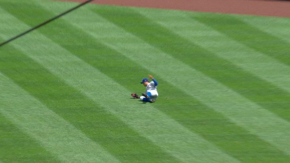 Choo's superb sliding catch