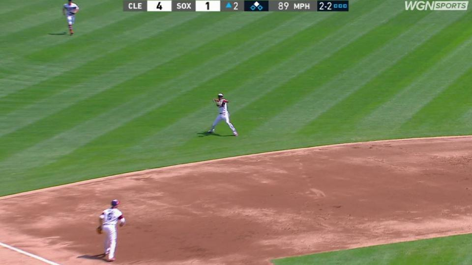 Anderson's backhanded play