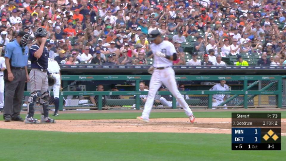 Goodrum's RBI walk