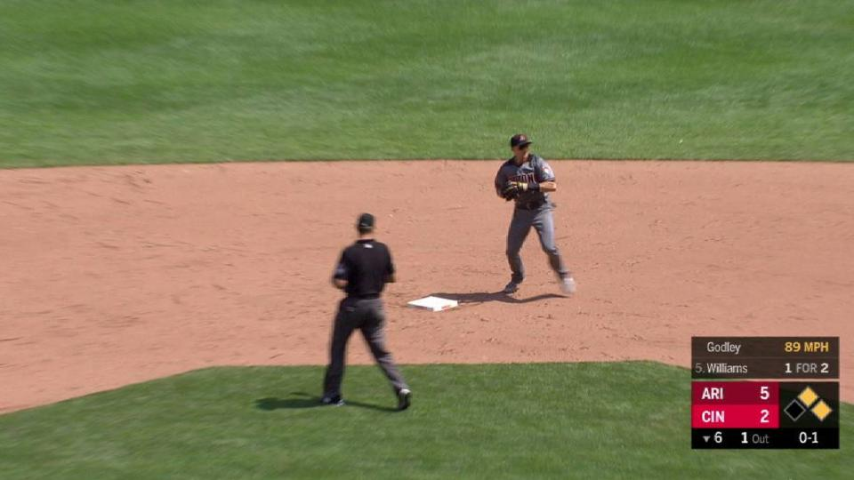 Godley induces a double play