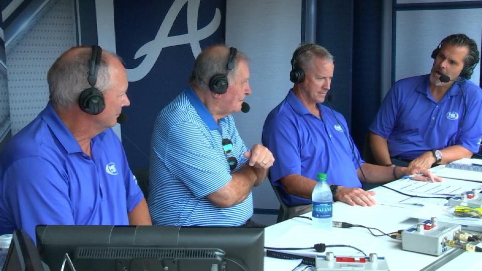 Cox joins Braves' booth