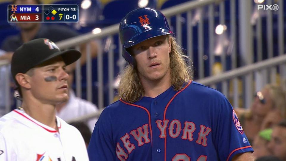 Syndergaard's single to left