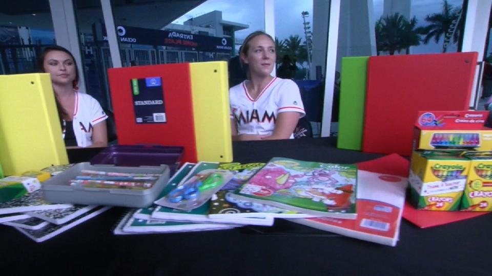 Marlins' back to school drive