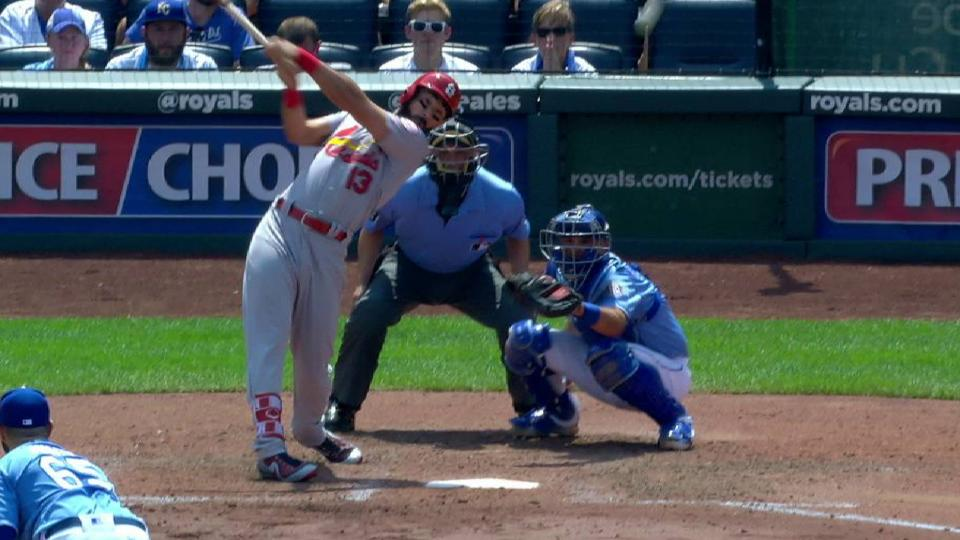Carpenter extends on-base streak