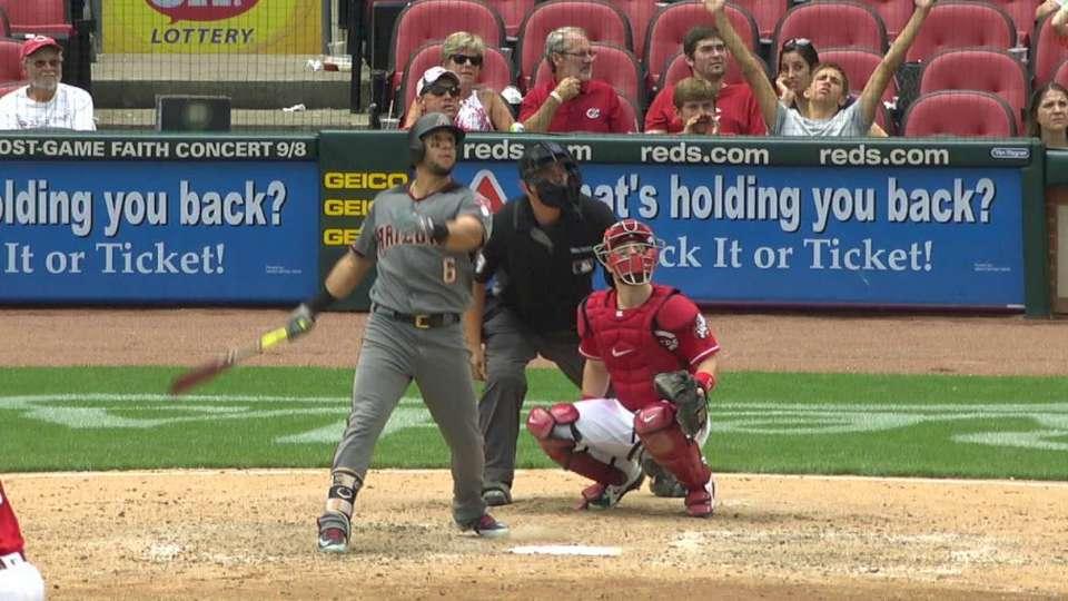 Peralta's solo home run