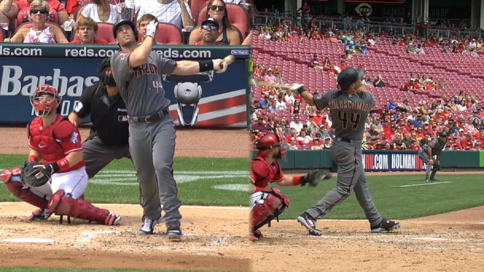 Goldschmidt's 2-homer game