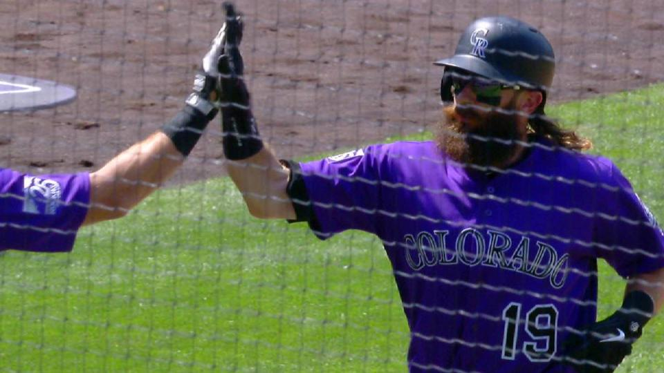 Blackmon's 22nd HR of the year