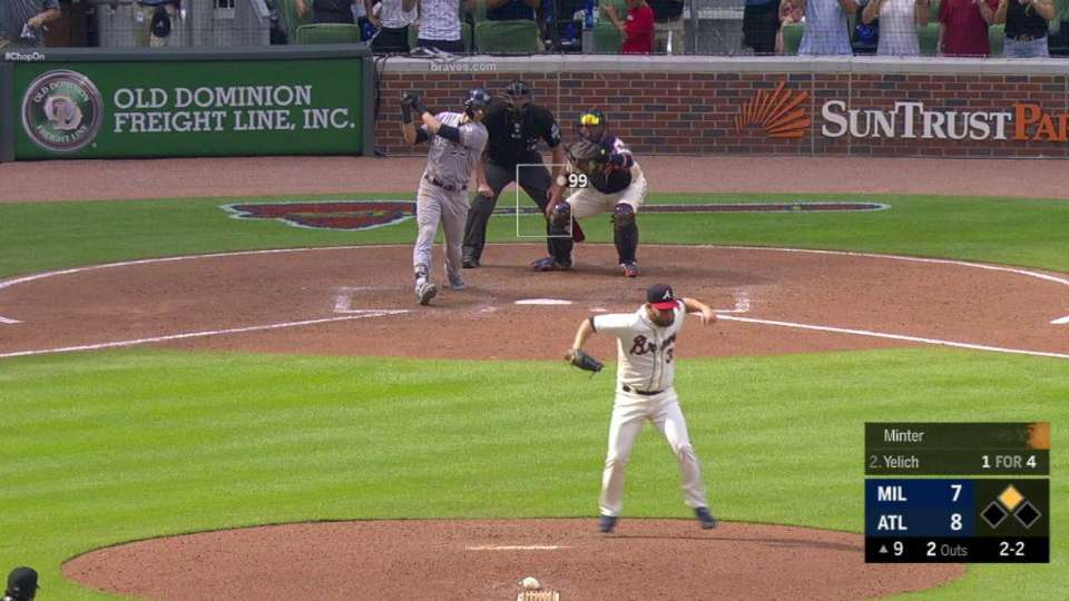 Minter K's Yelich for the save