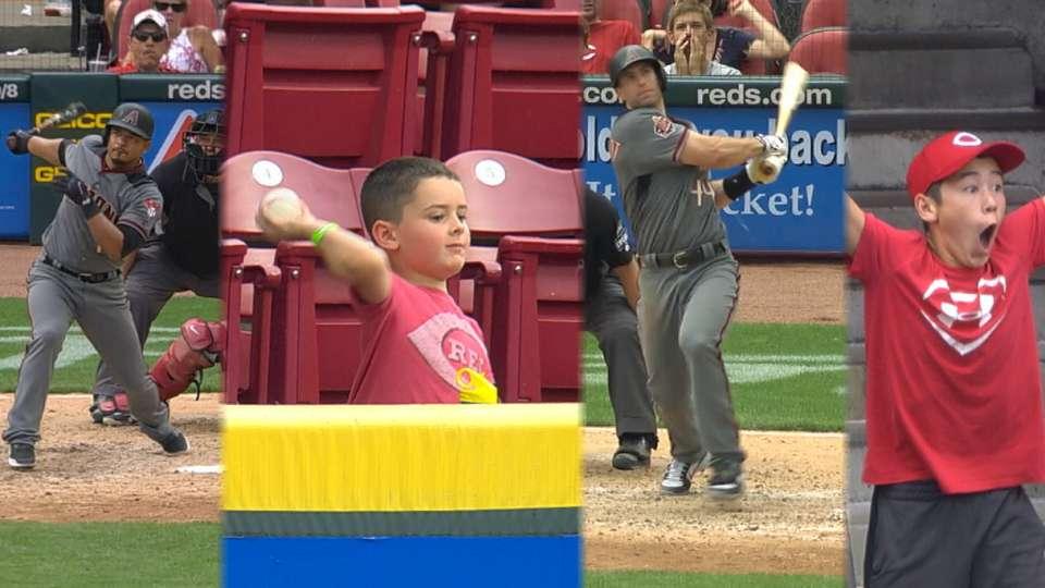 Kids react to D-backs' homers