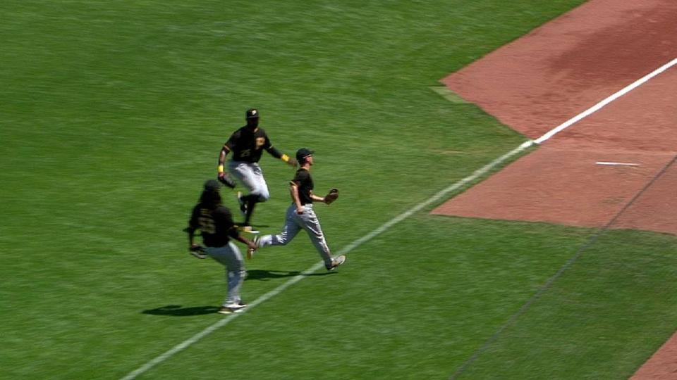 Frazier's long running catch