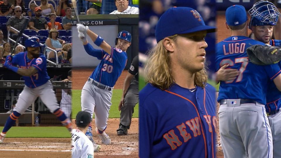 Reyes, Conforto power Mets' win