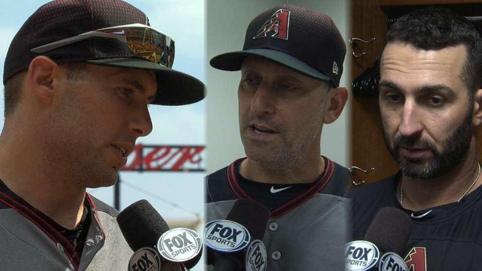 D-backs on their win over Reds