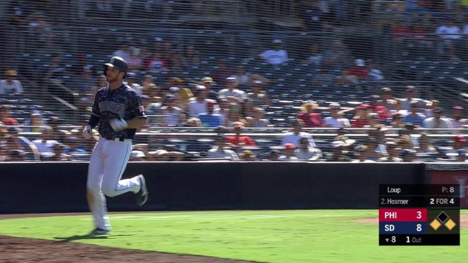 Hosmer's RBI fielder's choice