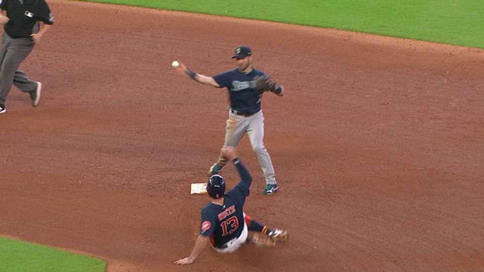 Ramirez gets inning-ending DP
