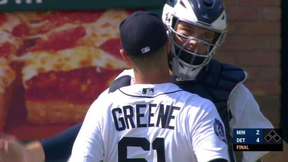 Greene's 25th save