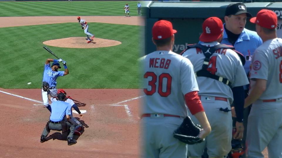 Webb hits Bonifacio, ejected