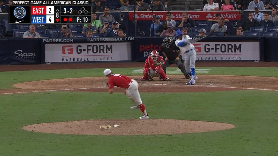Sims strikes out Brown