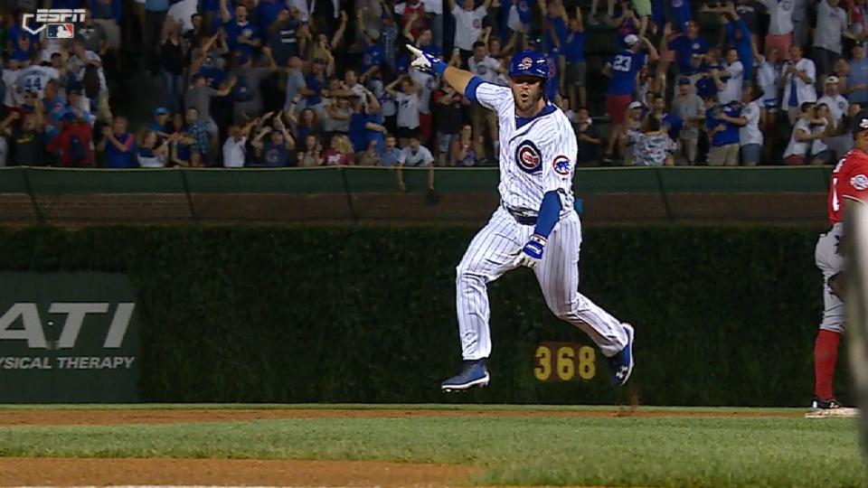 Bote's walk-off slam lifts Cubs