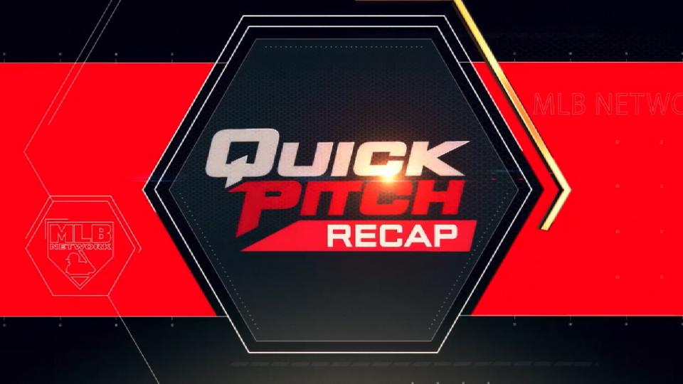 Quick Pitch Recap: 8/12/18