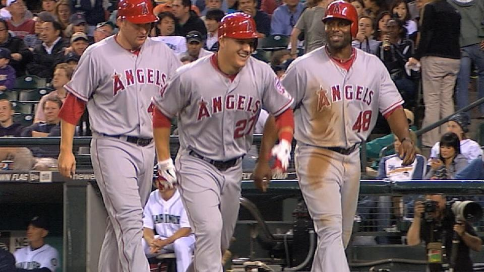 Trout's huge game