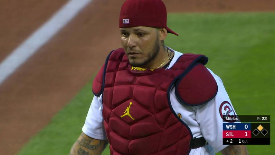 Molina fields bunt to nab Soto