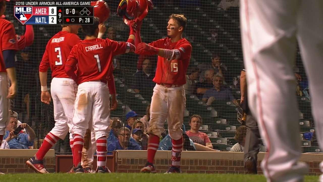 Stars shine at Under Armour All-America Game   MLB.com 7751e3e742
