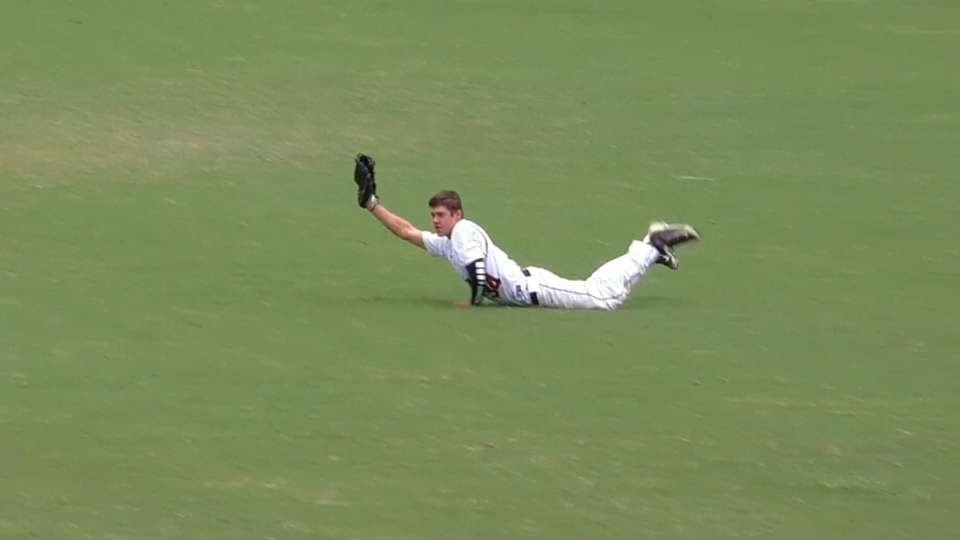 Barber's diving catch