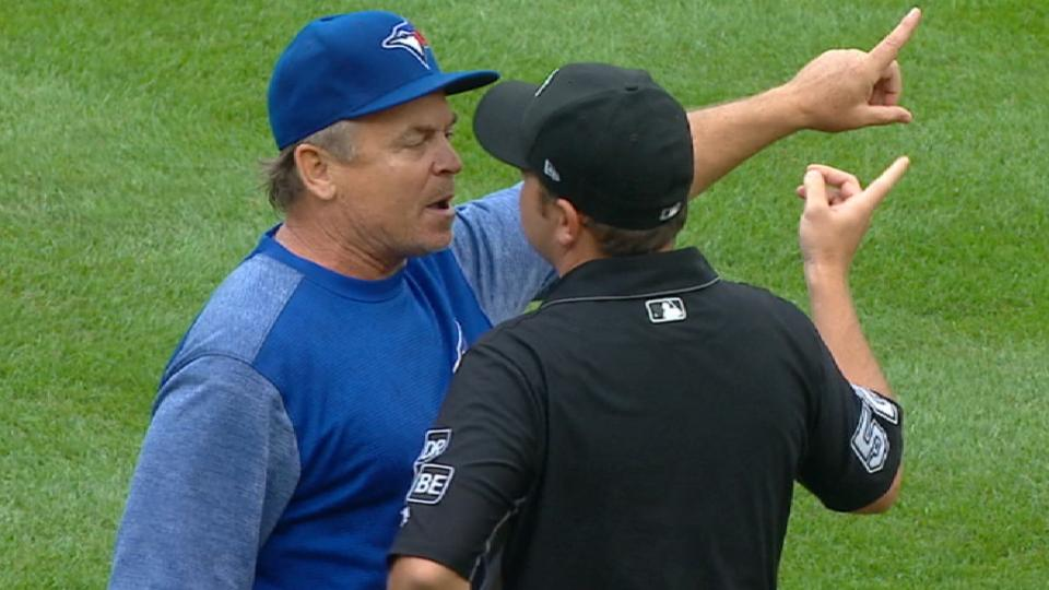 Gibbons gets fired up, ejected