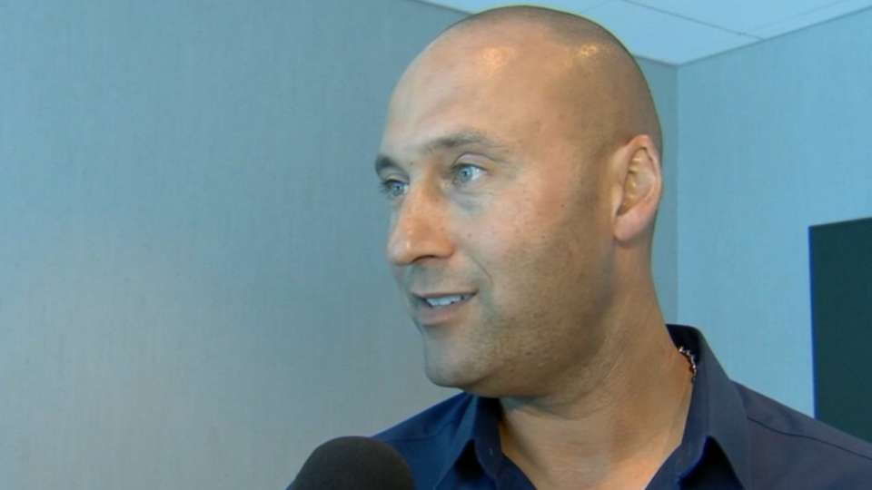 Jeter on 1st year as CEO