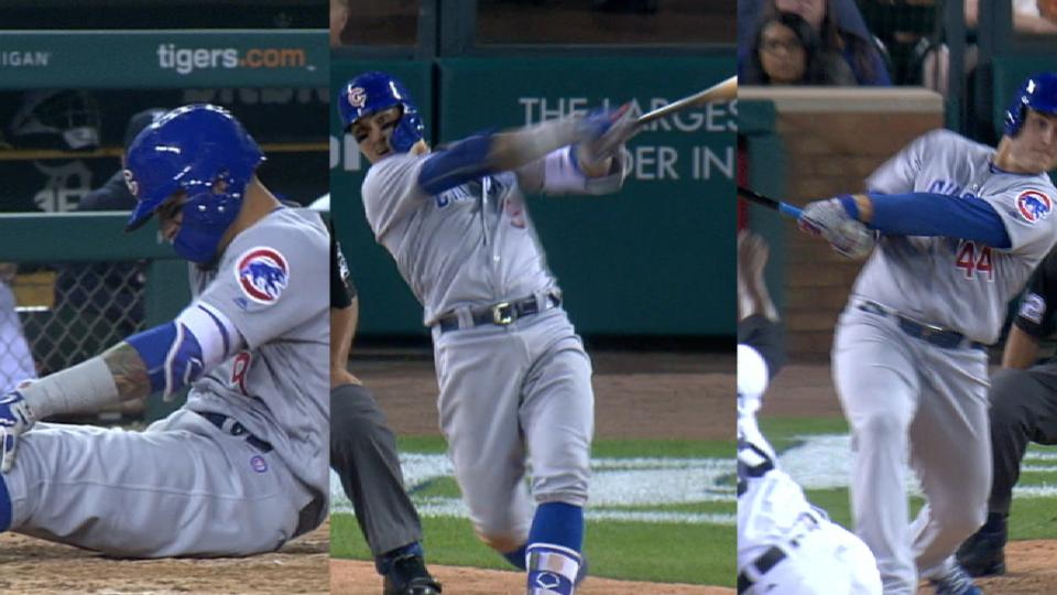 Baez, Rizzo go back-to-back