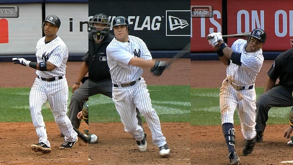 Yankees' three grand slams