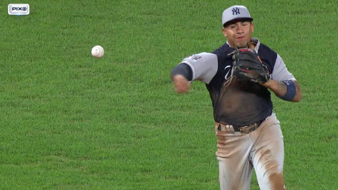 Andújar Brilló Y Los Yankees Barrieron La Doble Cartelera Ante
