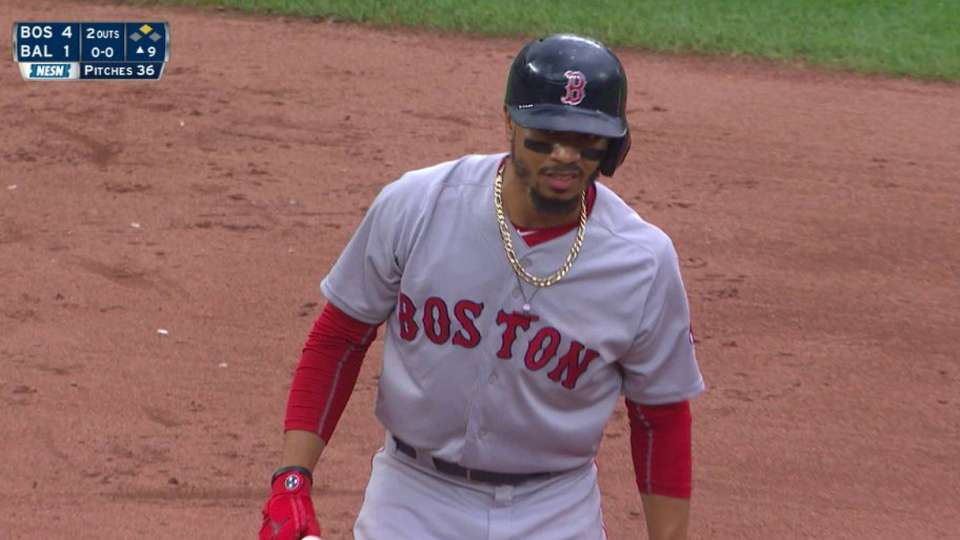 Betts' RBI double