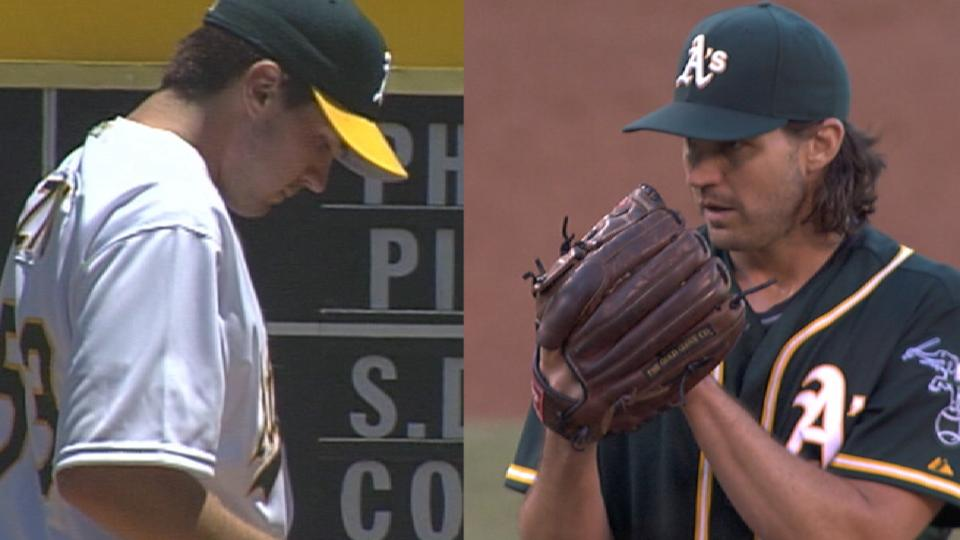 First & Last: Zito's strikeouts