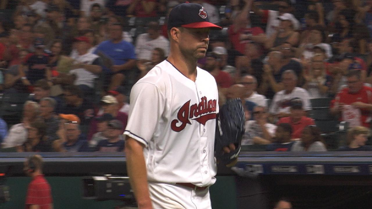 Corey Kluber Dominant Tribe Shuts Out Rays Seat Post Suspension Zoom Ready Size 316 Klubers 7 Scoreless Innings