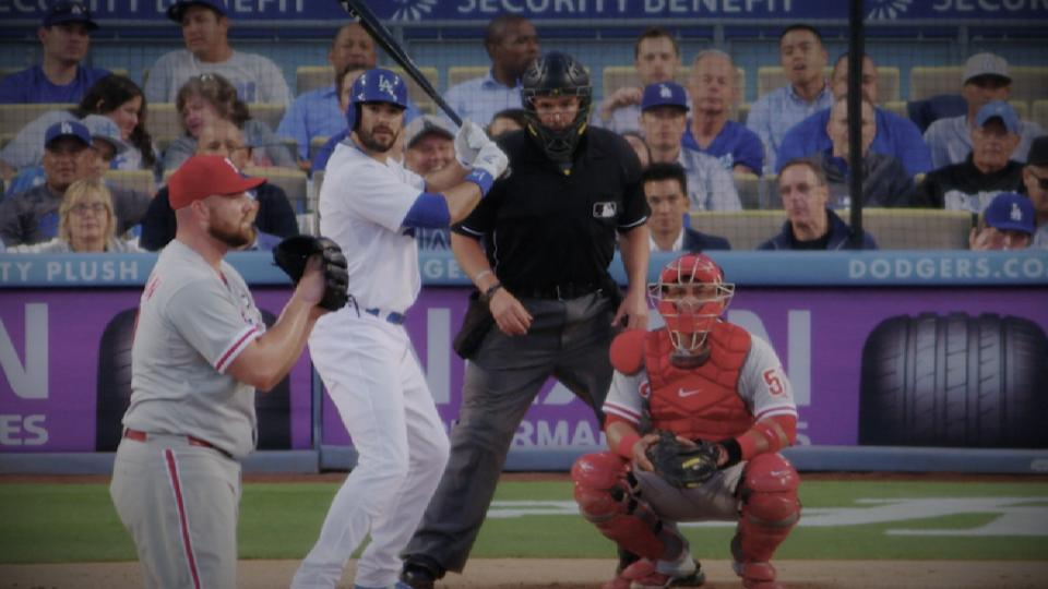 Dodgers honor Andre Ethier