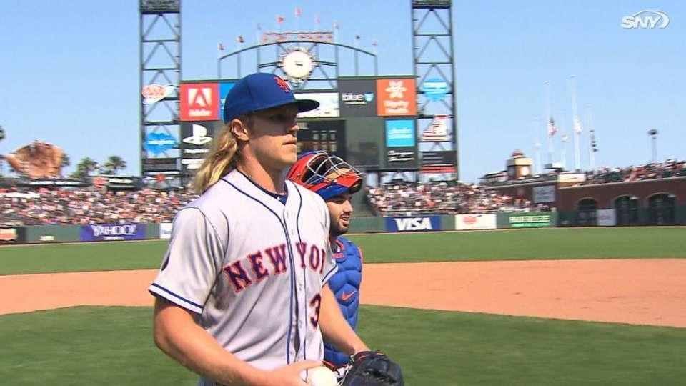 Syndergaard nails down first career CG as Mets win