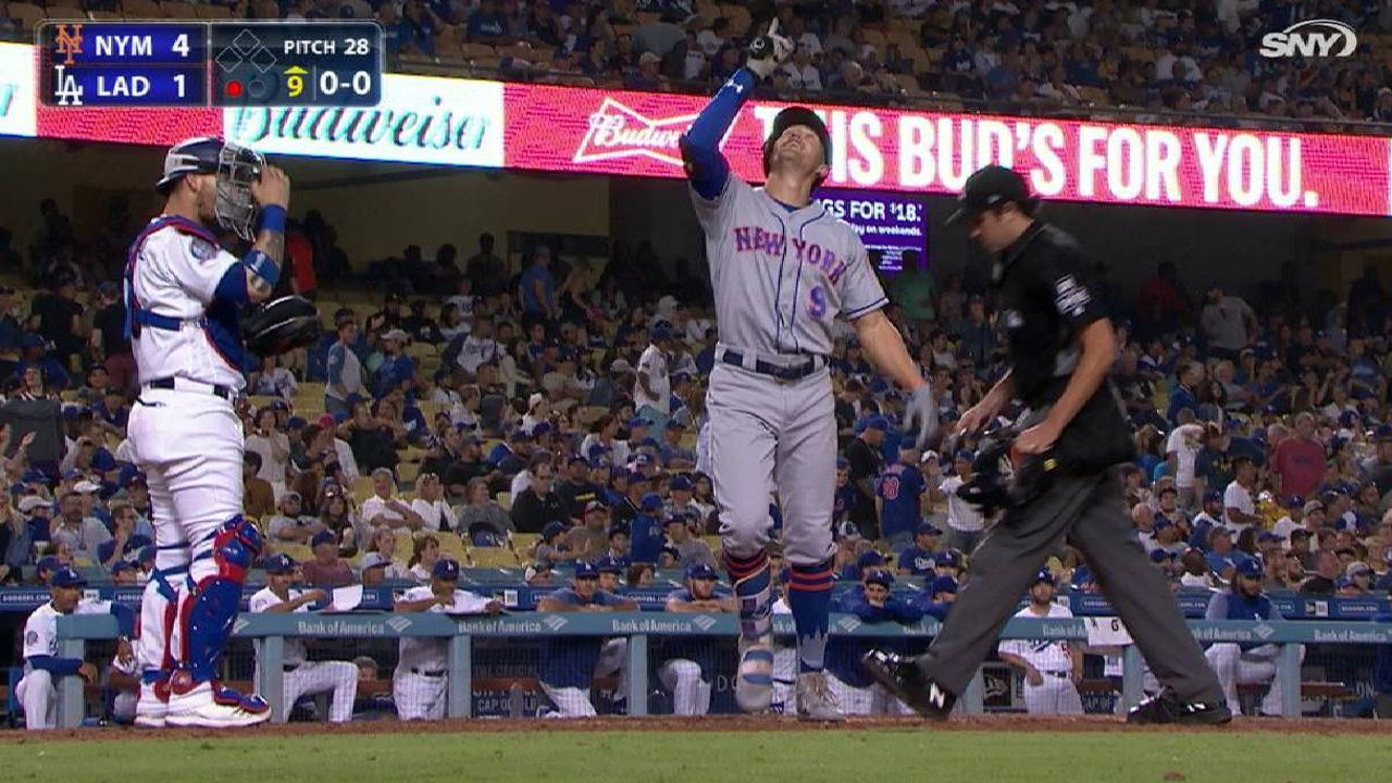 Nimmo, Mets le ponen freno a magia de Dodgers | Lasmayores.com