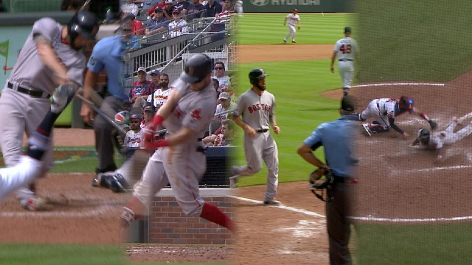 Red Sox tie game with 6-run 8th