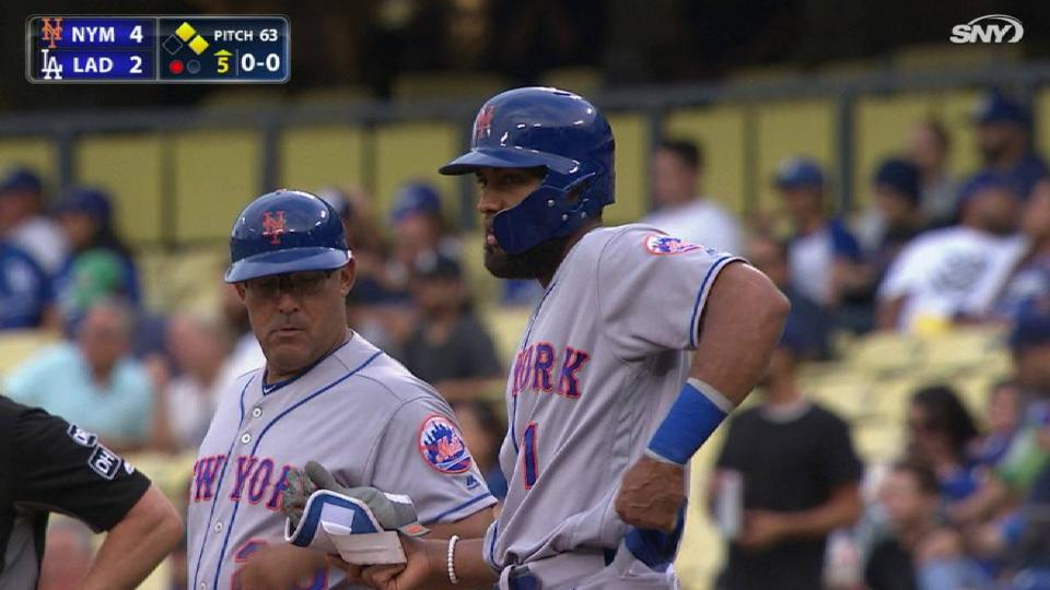 Rosario's speed, 3 hits lead Mets to series win