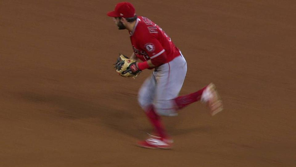 Fletcher turns nifty double play