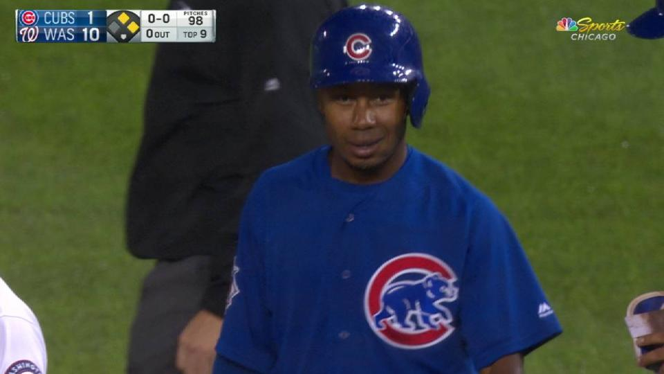 Gore's first career hit