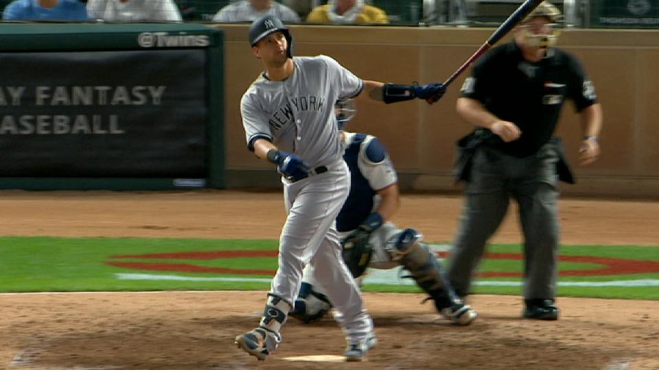 Sanchez's mammoth home run