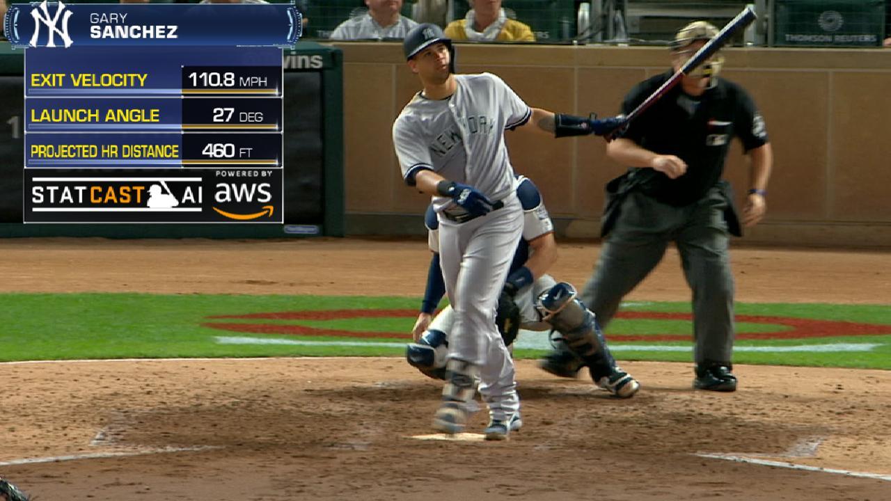 Gary Sanchez hits 460-foot HR at Target Field | New York Yankees