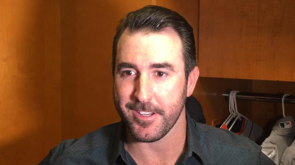 Verlander on return to Detroit