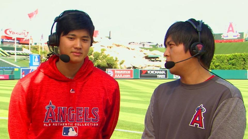 Ohtani on winning POTW