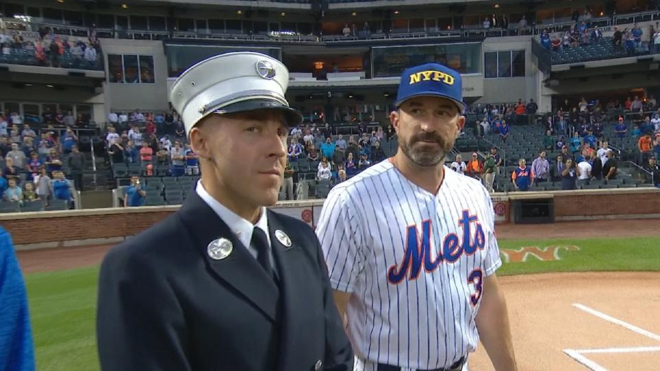 Mets recognize Sept. 11, 2001
