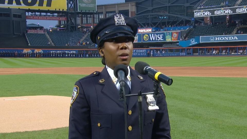 Brown sings anthem on 9/11