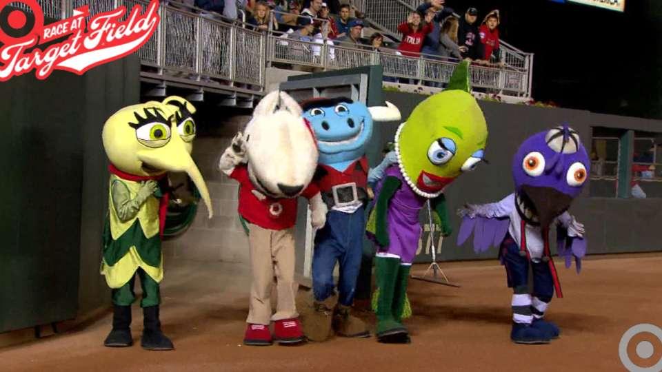 9/5/14: Target Mascot Race