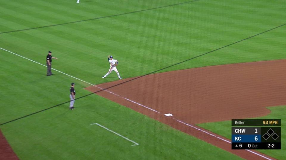 Dozier's fine play down the line